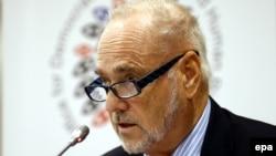 Руководитель наблюдательской миссии БДИПЧ ОБСЕ, посол Ян Петерсен (архив)