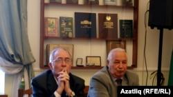 Фаяз Хуҗин(c) һәм Гамирҗан Дәүләтшин
