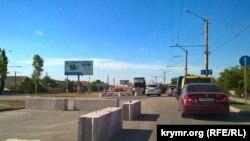 Пробки в Симферополе, 4 августа, 2017 год
