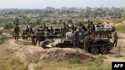 Войска Афганистана готовятся к спецоперации против талибов. 19 апреля 2016 года.