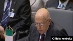 Italijanski predsjednik Đorđo Napolitano