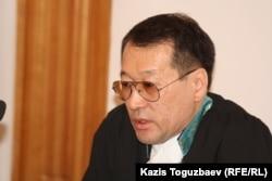 Бахытжан Караманов, судья апелляционной коллегии Военного суда Казахстана. Алматы, 5 февраля 2013 года.
