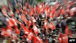 Protestë në Spanjë, foto nga arkivi