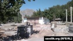 Ўш вилояти Аравон туманида қурилаëтган масжид