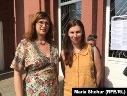 Перекладачка Тереза Хланьова та Таня Малярчук, українська письменниця