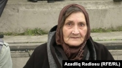 Azerbaijan -- Elmira Ismayilova, mother of detained journalist Khadija Ismayil - 15Mar2015