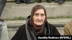 Хадиджаның анасы Ельмира Иасмаилова. Баку, 15 наурыз 2015 жыл.