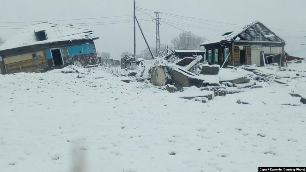 Дом жителей Нижнеудинска, пострадавших от наводнения