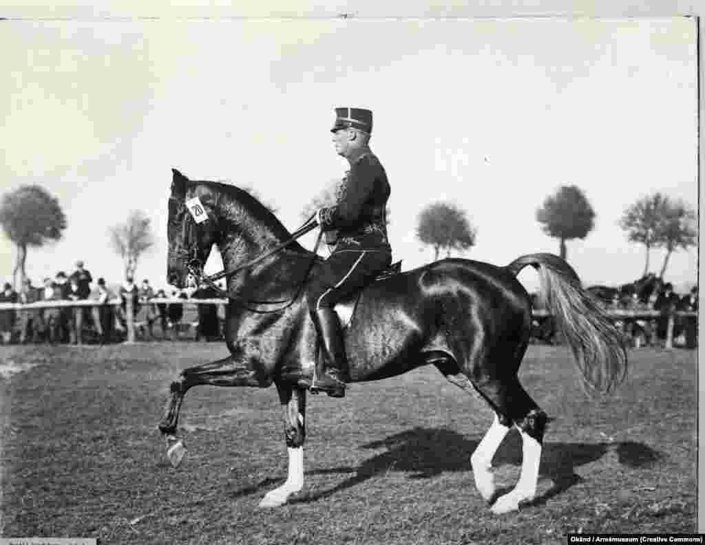 "Bertil Sandstrom, a Swedish dressage rider, was stripped of his silver medal at the 1932 Los Angeles Olympics after officials claimed to have heard him illegally ""clicking"" encouragement to his horse. The army officer claimed the judges had, in fact, heard the creak of his leather saddle, but Sandstrom was officially placed last in the event."