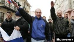 Марш националистов, архивное фото