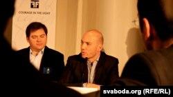 Усама Мунаджыд выступіў на Форуме Свабоды ў Осла, 07 траўня 2012