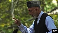 حامد کرزی، رییس جمهوری افغانستان