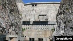 Токтогульская гидроэлектростанция.