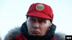 В. Путин на Земле Франца-Иосифа