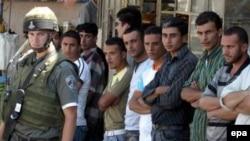 سرباز اسرائیلی در کرانه باختری