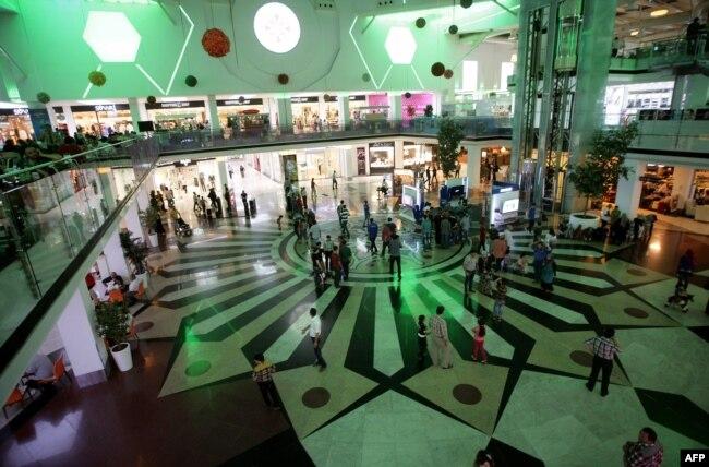 یک مرکز خرید در اربیل