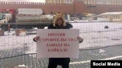 Сергей Зверев на Красной площади, 4 марта 2019 года