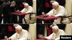 Papa duke shkruar në Twitter