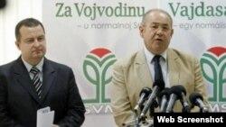 Ivica Dačić i Ištvan Pastor, 16. jul 2012.