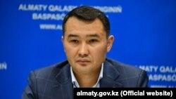 Заместитель акима Алматы Сапарбек Туякбаев.