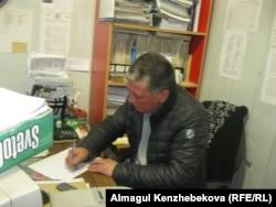"""Председатель КСК """"Коктем"""" Серик Балабаев."""