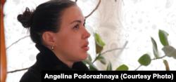 Алина Брагина, основатель движения STOPкиднеппинг. Кадр из фильма