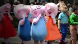 Porcul Peppa, un teaser interzis în China.