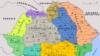 Împărțirea administrativă a României după 1918; Sursa: BCU-Iași