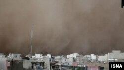 توفان کمسابقه در پایتخت ایران