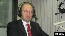 Арсеній Яценюк у студії Радіо Свобода