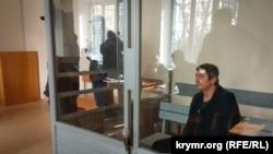 Сергей Осьминин в суде Херсона, 5 апреля 2018 год