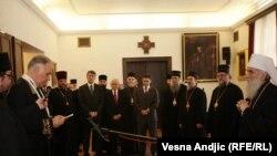 Ambasador Rusije Aleksandar Konuzin dobio je orden Svetog Save prvog stepena, 6. februar 2012.