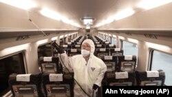 Көньяк Кореядә поездны йогышсызландыру
