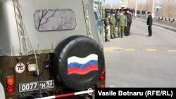 Пост миротворцев в Вадул-луй-Водэ