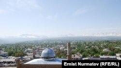 Новая мечеть до своего официального открытия. 2011