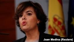 Zëvendëskryeministrja e Spanjës, Soraya Saenz de Santamaria.
