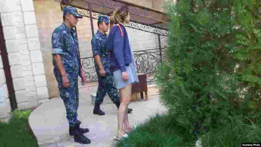 Гульнара Каримова под домашним арестом.2014 год.