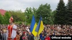 Під час одного зі святкувань на Донеччині (фото поліції Донецької області)