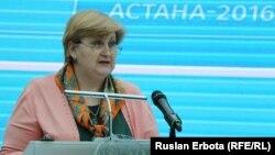 Наталья Калашникова. Астана, 30 наурыз 2016 жыл.