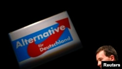 Professor Bernd Lucke, anti-avro partiyasının yaradıcılarından biri yeni qurumu təqdim edir