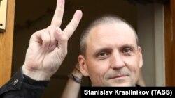 """Сергей Удальцов, """"Солшыл майдан"""" қозғалысының жетекшісі, оппозициялық белсенді."""