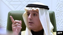 Saudi Minister of Foreign Affairs Adel al-Jubeir.