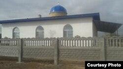 Мечеть в селе Атасу Карагандинской области.