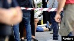 Uciderea unui șef al mafiei siciliene, Palermo 22 mai 2017