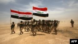 جنود عراقيون في وحدة تدريبية