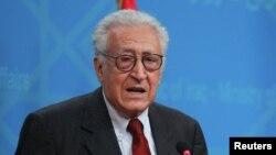 Міжнародниий посланець у справах Сирії Лахдар Брагімі