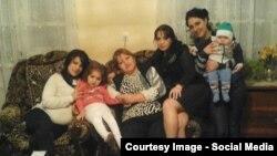 Семья Аветисян, убитая российским солдатом.