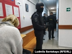 Меры безопасности во время судебного процесса Артема Милушкина