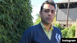 Iranian activist Esmail Bakhshi was arrested in November for organizing weeks-long protests at a sugar factory.