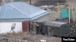 Спецоперация в селе Анди (Ботлихский район Дагестана)